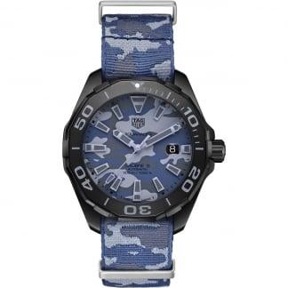 Men's Aquaracer 300M Artic Camouflage Automatic Watch WAY208D.FC8221