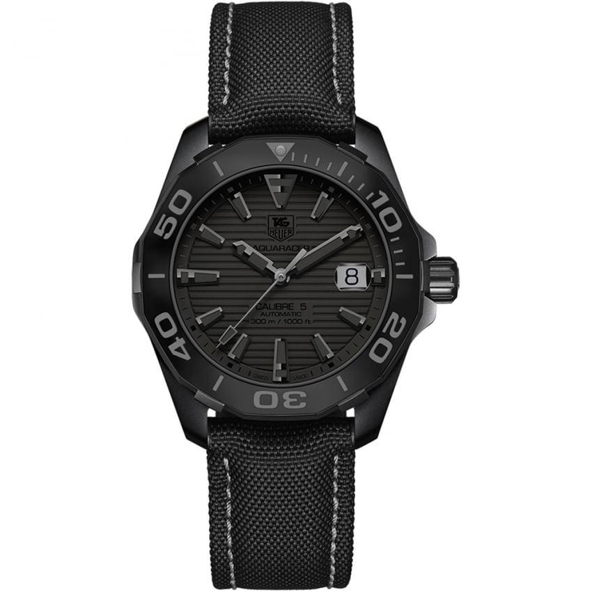 TAG Heuer Men's Aquaracer 300M Calibre 5 Black Phantom Watch WAY218B.FC6364