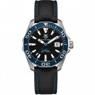 Men's Aquaracer 300M Nylon Strap Automatic Watch WAY211B.FC6363