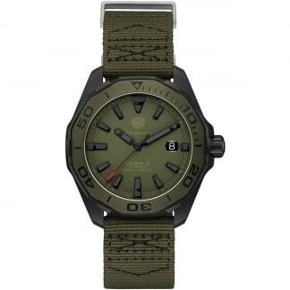 Men's Aquaracer 300M Jungle Khaki Automatic Watch WAY208E.FC8222