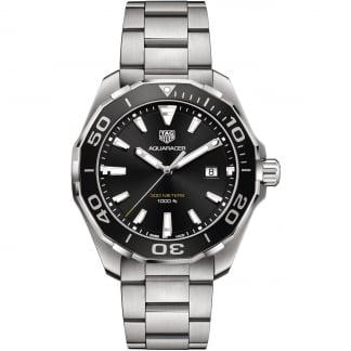 Men's Aquaracer 43MM Quartz Aluminium Bezel Watch WAY101A.BA0746