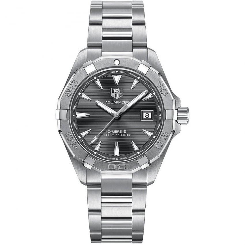 TAG Heuer Men's Aquaracer Anthracite Dial Calibre 5 Automatic Watch WAY2113.BA0928