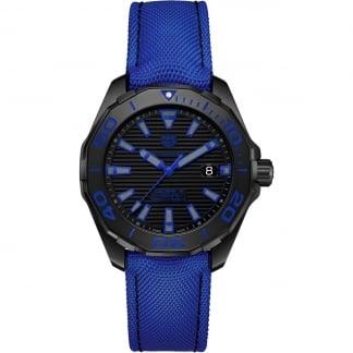Men's Aquaracer Blue Nylon Calibre 5 Titanium Watch WAY208B.FC6382