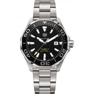 Men's Automatic Aquaracer 300m Black Dial Watch WAY201A.BA0927