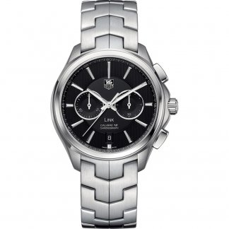 Men's Calibre 18 Automatic Link Watch with Chronograph