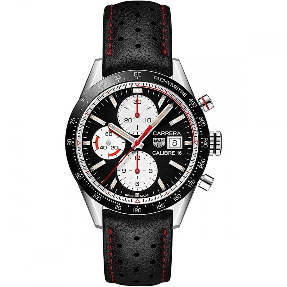 Tag Heuer Uk >> Tag Heuer Men S Carrera Calibre 16 Sports Chronograph Watch