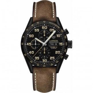 4dfc11a8a364 TAG Heuer Men s Carrera Calibre 17 Automatic Panda Watch - Watches ...