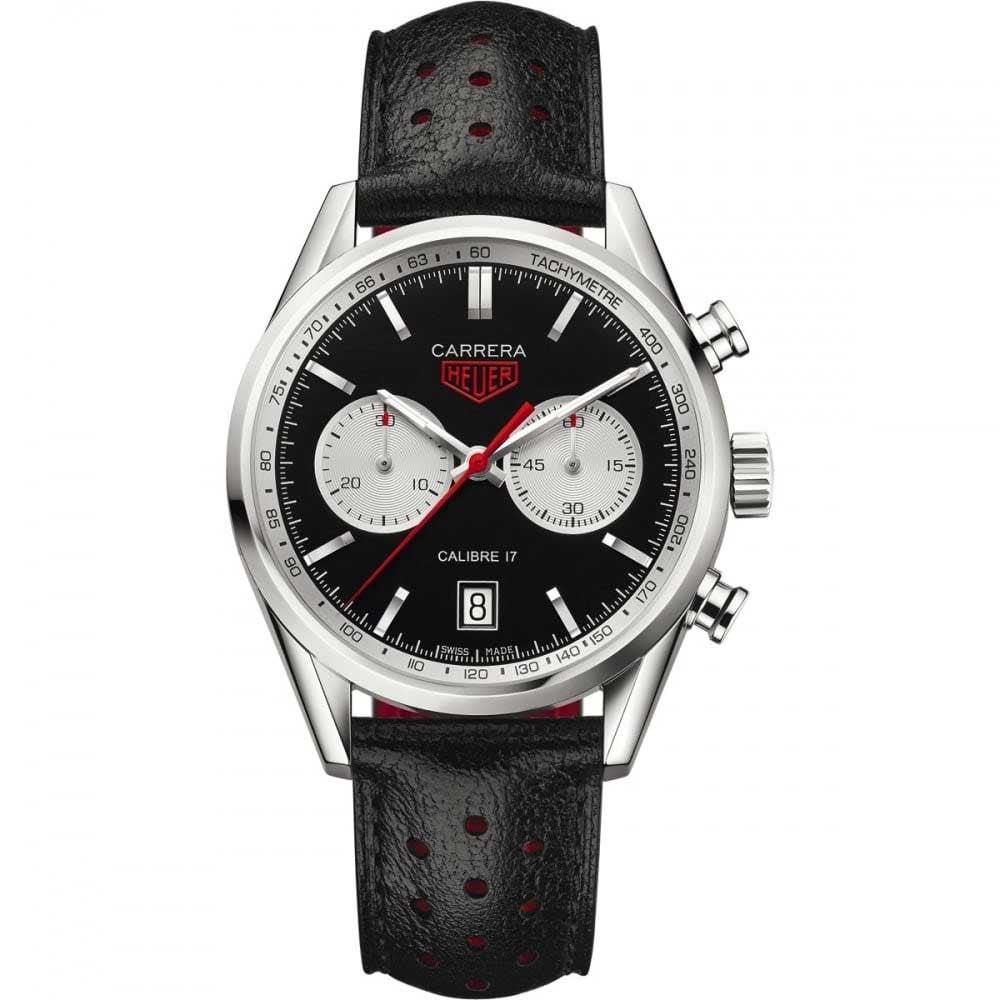 48df3358e1cb TAG Heuer Men s Carrera Calibre 17 Automatic Panda Watch Product Code   CV211D.FC6310