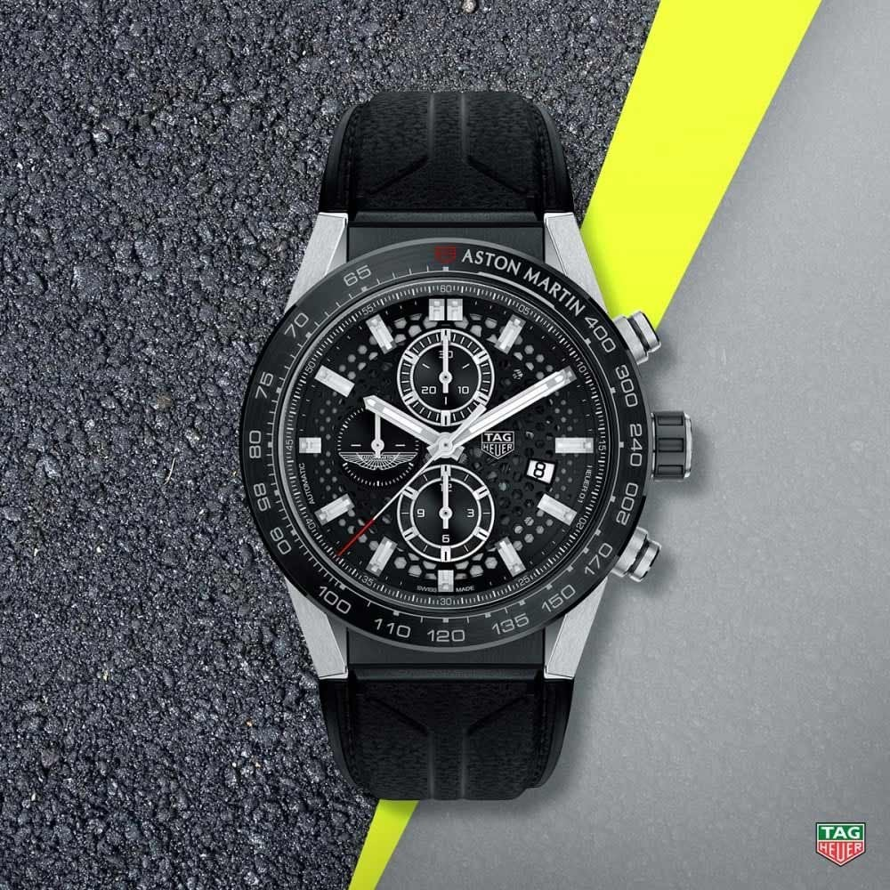 Men S Carrera Heuer 01 Aston Martin Limited Edition Watch
