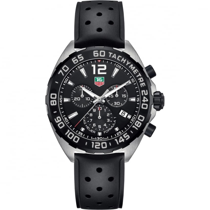 TAG Heuer Men's Formula 1 43mm Quartz Chronograph Watch CAZ1010.FT8024