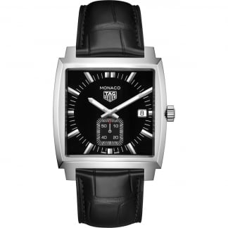 Men's Monaco Mid-Size Quartz Watch