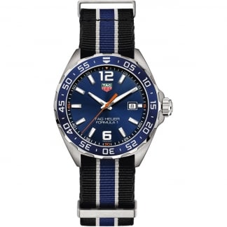 Men's NATO Strap 43mm Formula 1 Quartz Watch WAZ1010.FC8197