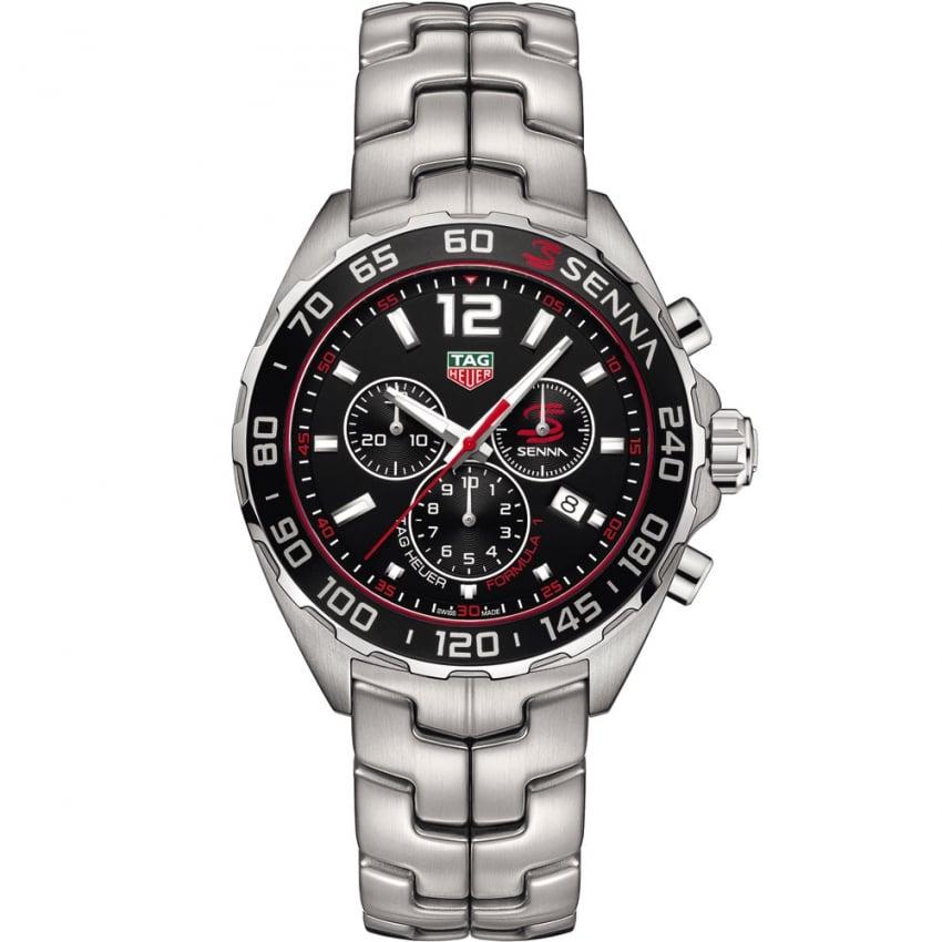 tag heuer s senna special quartz chronograph formula 1