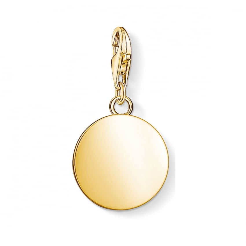 Thomas Sabo 2018 GCC Mini Gold Disc Charm 1637-413-39