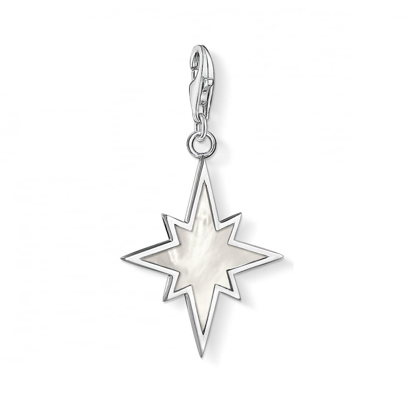 Thomas Sabo 2018 GCC Mother of Pearl Abstract Star Charm 1538-029-14