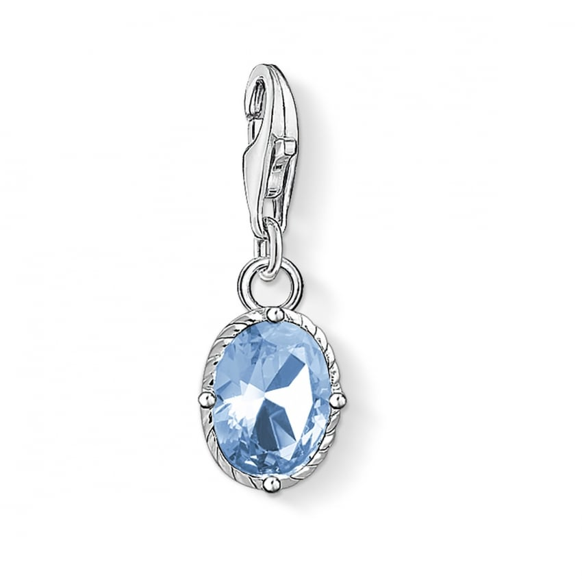 Thomas Sabo 2018 GCC Synthetic Blue Spinel Charm 1670-009-1