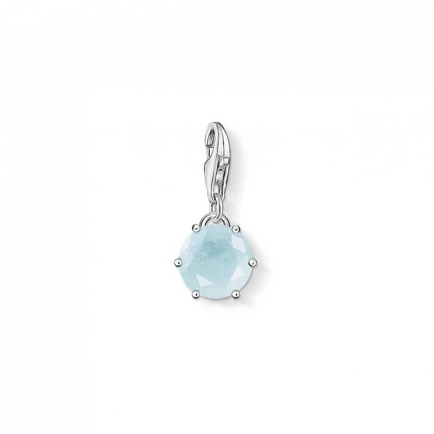 Thomas Sabo Aquamarine - March Birthstone Charm 1256-696-31