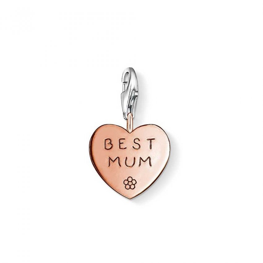 thomas sabo best mum rose gold charm jewellery from francis gaye jewellers uk. Black Bedroom Furniture Sets. Home Design Ideas