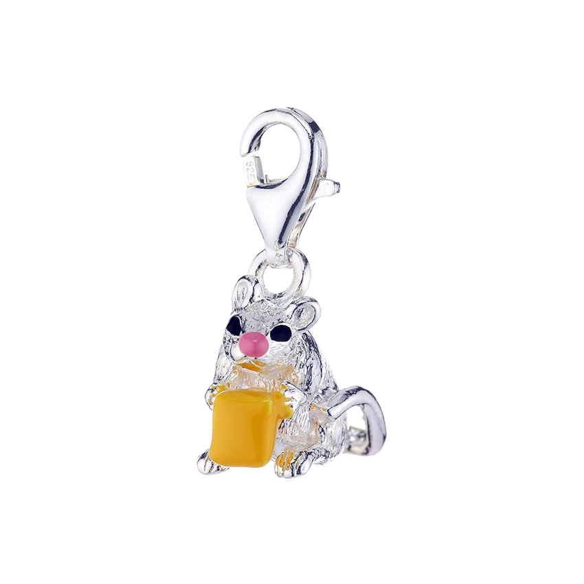 Thomas Sabo Charm Club Mouse With Cheese Charm Jewellery