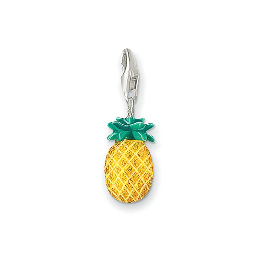 thomas sabo charm club pineapple charm jewellery from francis gaye jewellers uk. Black Bedroom Furniture Sets. Home Design Ideas