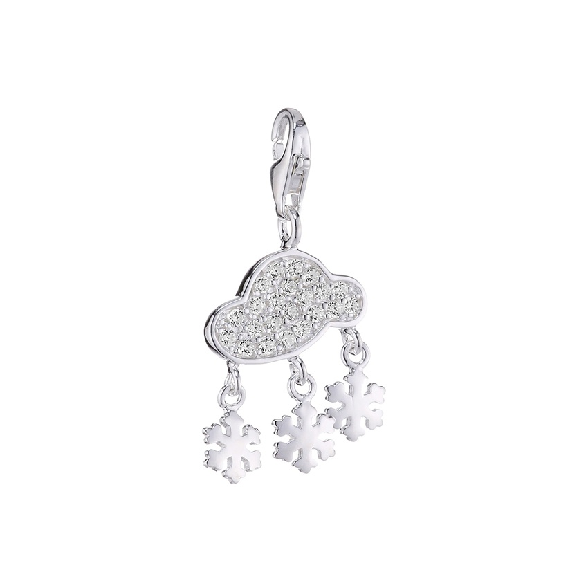 thomas sabo charm club snow cloud charm jewellery from francis gaye jewellers uk. Black Bedroom Furniture Sets. Home Design Ideas