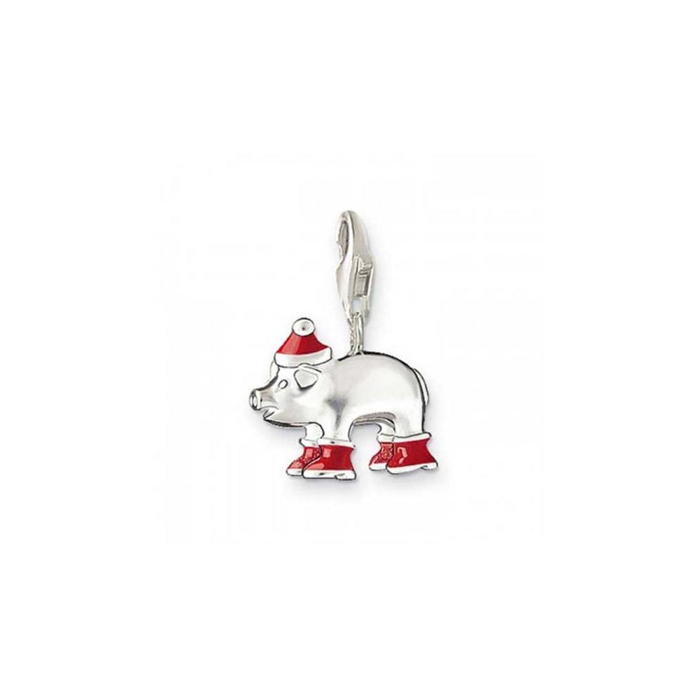 Christmas Pig.Thomas Sabo Christmas Pig Charm
