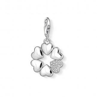 Cloverleaf Hearts Charm 1063-051-14