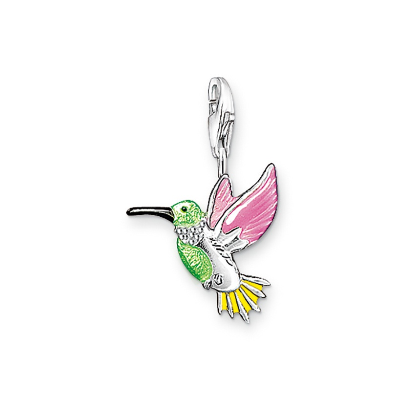 Thomas Sabo Colourful Hummingbird Charm 0655-007-7