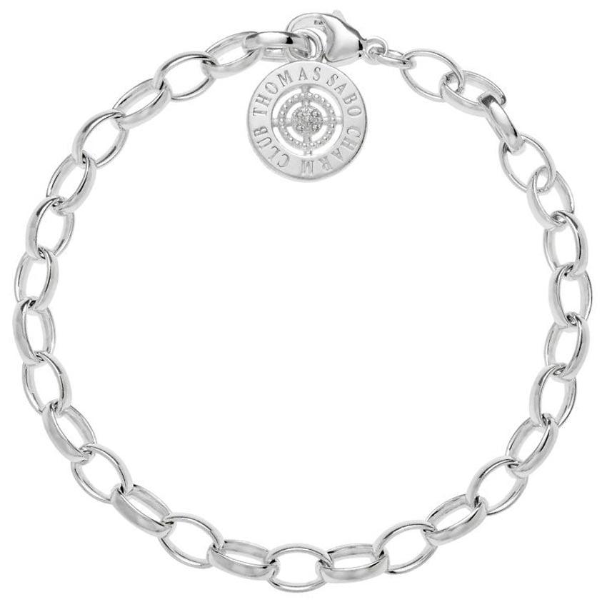 Thomas Sabo Diamond Charm Bracelet DCX0001-725-14