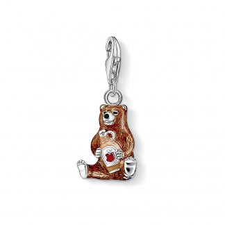 Enamel Honey Bear Charm