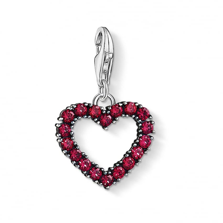 Thomas Sabo Eternal Love Heart Charm 1476-639-10