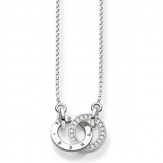 Glam and Soul Together Forever Diamond Necklace