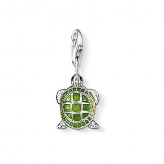 Green thomas sabo jewellery green turtle charm thomas sabo aloadofball Choice Image