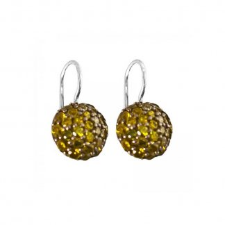 Green  Zirconia Hook Earrings H1729-051-6