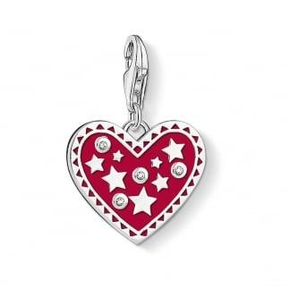 Thomas Sabo Strawberry Pendant Red thomas sabo beads charms hearts and stars charm thomas sabo audiocablefo