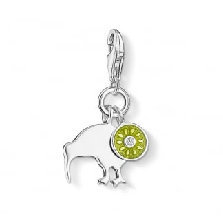 Kiwi Bird and Kiwi Fruit Charm 1190-041-6