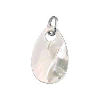 Mother or Pearl Teardrop Pendant PE537-029-14