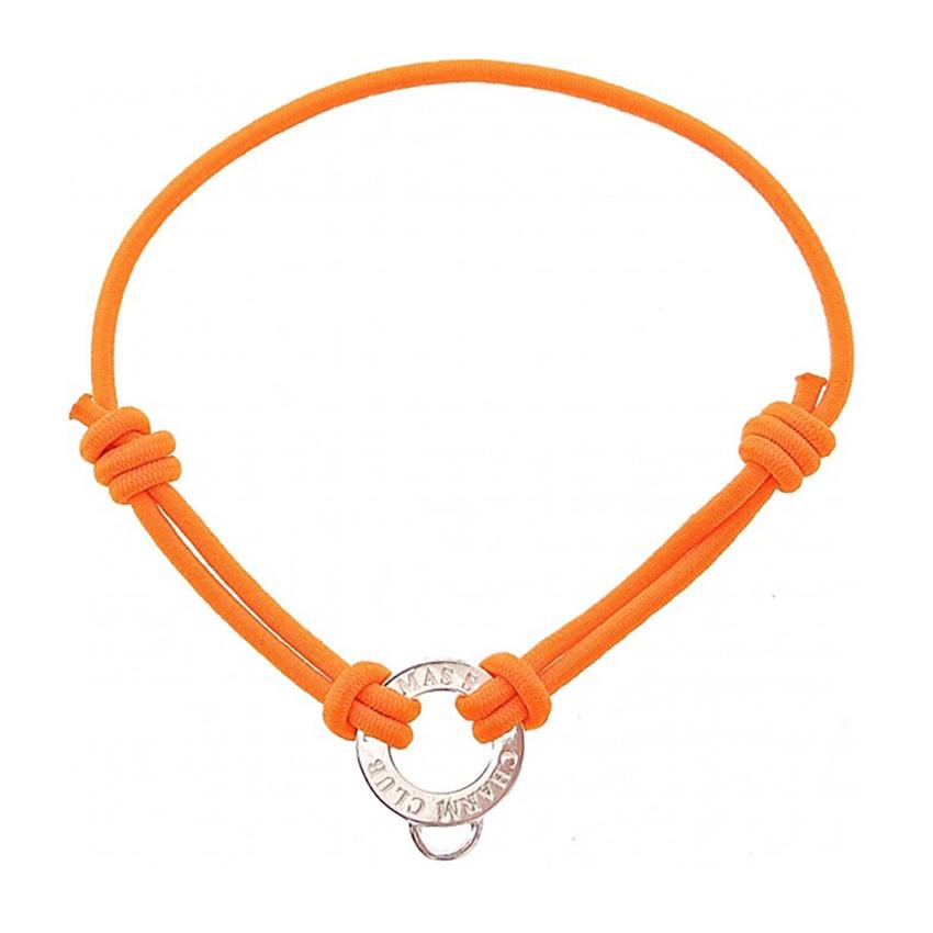 thomas sabo orange stretch cord charm bracelet jewellery from francis gaye jewellers uk. Black Bedroom Furniture Sets. Home Design Ideas
