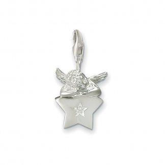 Charm Club Putto on Silver Star Charm 0271-051-14