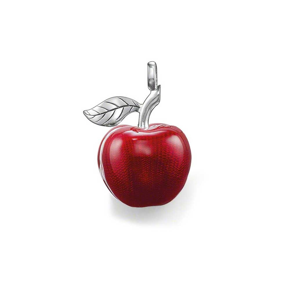 Thomas Sabo Red Enamel Apple Locket Pendant