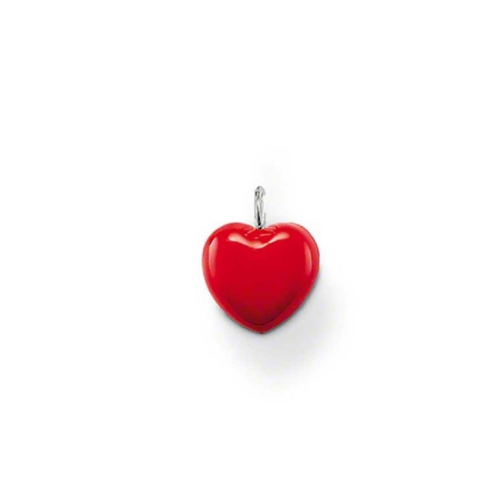 Thomas sabo red enamel heart pendant jewellery from francis gaye red enamel heart pendant aloadofball Choice Image