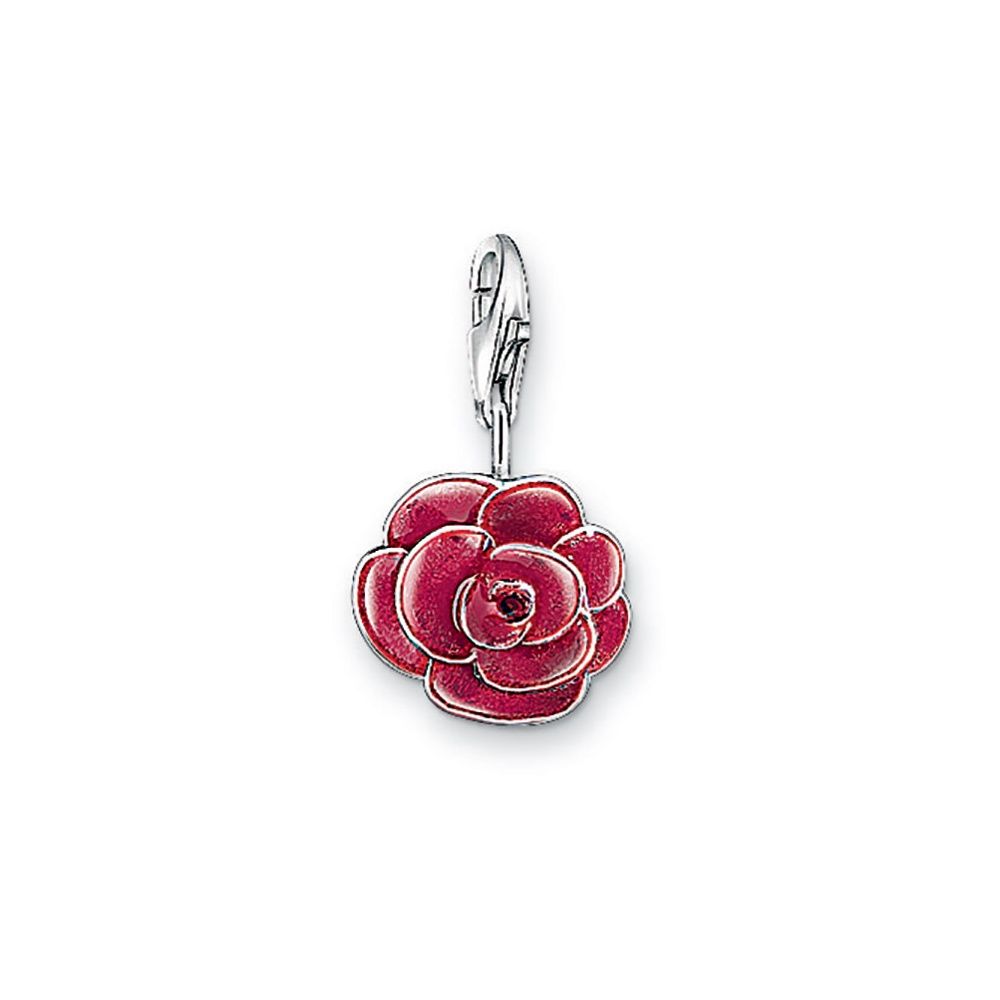 0697 007 10 rose charm by thomas sabo francis gaye jewellers. Black Bedroom Furniture Sets. Home Design Ideas