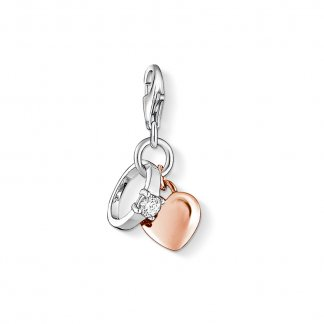 Ring/Heart Charm 1000-416-14