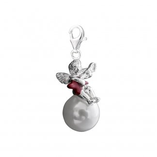Rock Angel Pearl Charm 0620-040-10