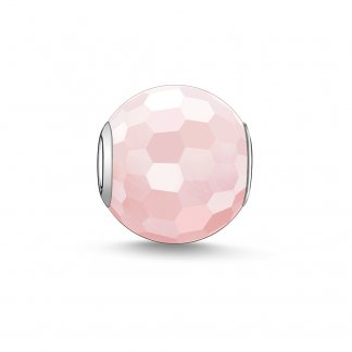 Rose Quartz Karma Bead K0005-034-9
