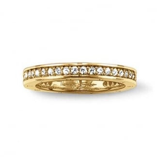 Special Edition Glam and Soul Gold Eternity Ring TR1700-414-5