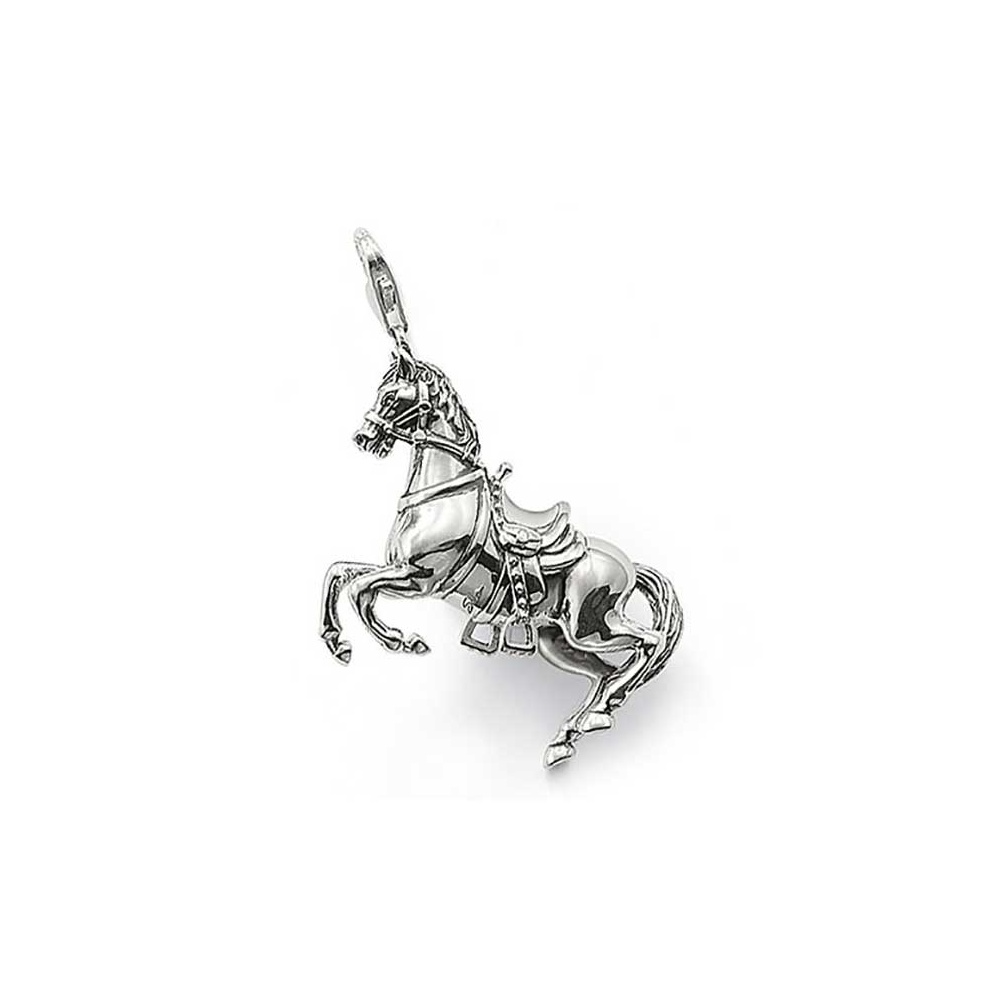 Thomas sabo sterling silver horse pendant jewellery from francis sterling silver horse pendant mozeypictures Image collections