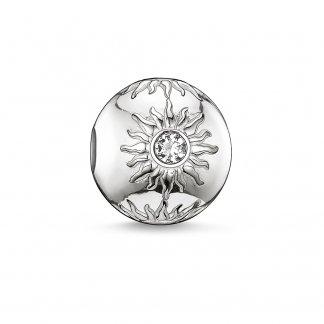 Sun Silver Karma Bead K0010-051-14