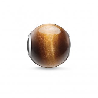 Tigers-Eye Karma Bead K0045-045-2