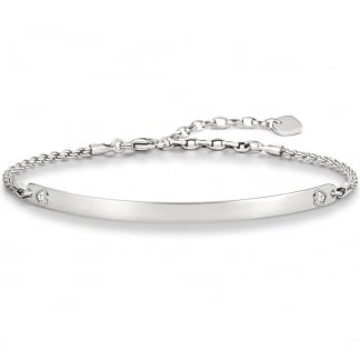 Love Bridge Valentines Hearts Bracelet LBA0045-051-14